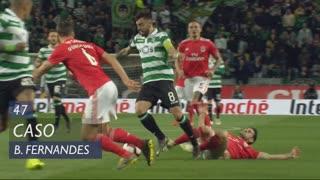Sporting CP, Caso, Bruno Fernandes aos 47'