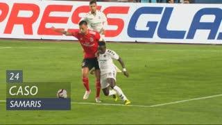 SL Benfica, Caso, Samaris aos 24'