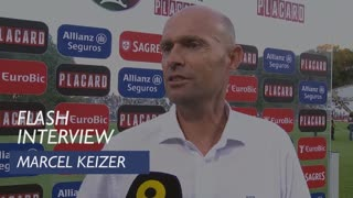 Taça de Portugal (Final): Flash Interview Marcel Keizer