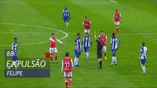 FC Porto, Expulsão, Felipe aos 88'