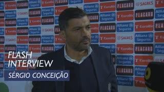 Taça de Portugal (3ª Eliminatória): Flash interview Sérgio Conceição