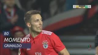 SL Benfica, Jogada, Grimaldo aos 80'