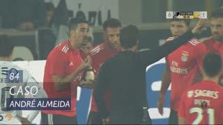 SL Benfica, Caso, André Almeida aos 84'