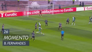 Sporting CP, Jogada, Bruno Fernandes aos 26'