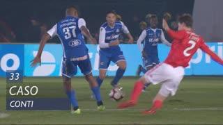 SL Benfica, Caso, Conti aos 33'