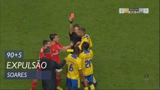 FC Arouca, Expulsão, Soares aos 90'+5'