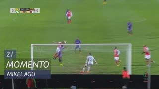 Vitória FC, Jogada, Mikel Agu aos 21'