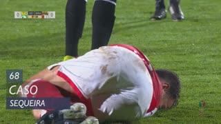 SC Braga, Caso, Sequeira aos 68'