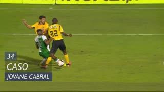 Sporting CP, Caso, Jovane Cabral aos 34'