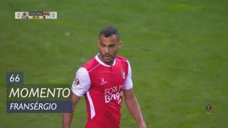 SC Braga, Jogada, Fransérgio aos 66'