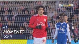 SL Benfica, Jogada, Conti aos 63'