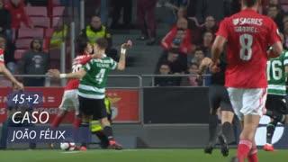 SL Benfica, Caso, João Félix aos 45'+2'
