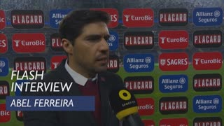 Taça de Portugal (Meias-Finais): Flash Interview Abel Ferreira