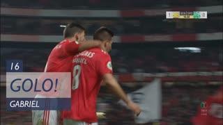 GOLO! SL Benfica, Gabriel aos 16', SL Benfica 1-0 Sporting CP