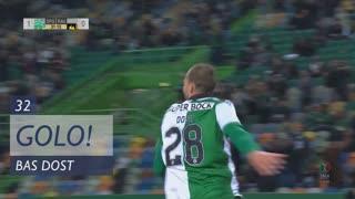 GOLO! Sporting CP, Bas Dost aos 32', Sporting CP 2-0 Rio Ave FC