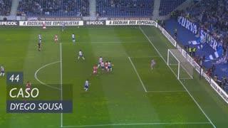 SC Braga, Caso, Dyego Sousa aos 44'