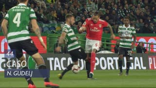 Sporting CP, Caso, N. Gudelj aos 44'