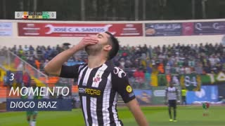 Lusitano FCV, Jogada, Diogo Braz aos 3'