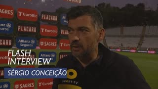 Taça de Portugal (Final): Flash Interview Sérgio Conceição