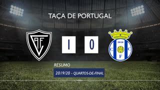 Taça de Portugal (Quartos de Final): Resumo Ac. Viseu 1-0 Canelas 2010