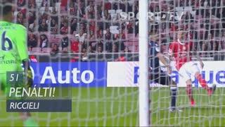 FC Famalicão, Penálti, Riccieli aos 51'