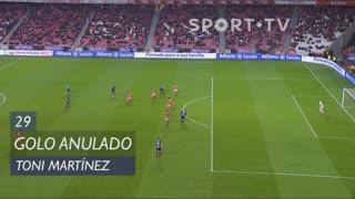 FC Famalicão, Golo Anulado, Toni Martínez aos 29'