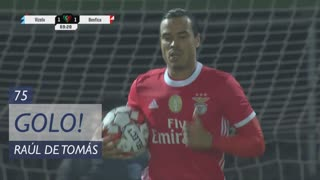 GOLO! SL Benfica, Raúl de Tomás aos 70', Vizela 1-1 SL Benfica