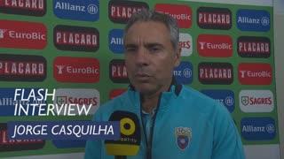 Taça de Portugal (3ª Eliminatória): Flash Interview Jorge Casquilha