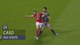 SC Braga, Caso, Rui Fonte aos 29'