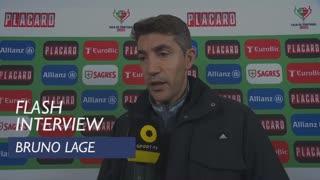 Taça de Portugal (3ª Eliminatória): Flash Interview Bruno Lage