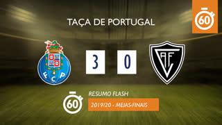 Taça de Portugal (Meias-Finais): Resumo Flash FC Porto 3-0 Ac. Viseu