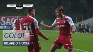 GOLO! SC Braga, Ricardo Horta aos 7', SC Braga 1-0 Gil Vicente FC