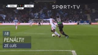 FC Porto, Penálti, Zé Luís aos 18'