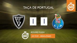 Taça de Portugal (Meias-Finais): Resumo Flash Ac. Viseu 1-1 FC Porto