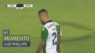 Sporting CP, Jogada, Luiz Phellype aos 61'