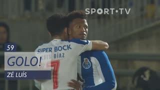 GOLO! FC Porto, Zé Luís aos 59', Ac. Viseu 1-0 FC Porto