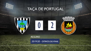 Taça de Portugal (Oitavos de Final): Resumo Marinhense 0-2 Rio Ave FC