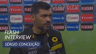 Taça de Portugal (Meias-Finais - 2ª Mão): Flash Interview Sérgio Conceição