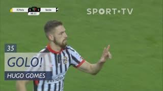 GOLO! Varzim SC, Hugo Gomes aos 35', FC Porto 1-1 Varzim SC
