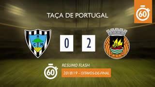 Taça de Portugal (Oitavos de Final): Resumo Flash Marinhense 0-2 Rio Ave FC