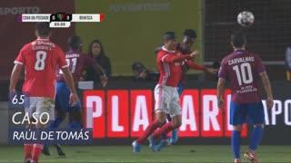 SL Benfica, Caso, Raúl de Tomás aos 65'