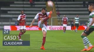 SC Braga, Caso, Claudemir aos 24'