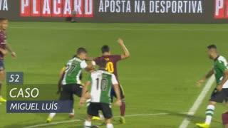 Sporting CP, Caso, Miguel Luís aos 52'