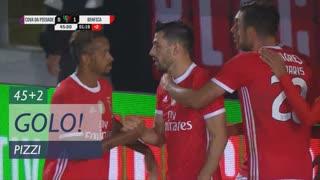 GOLO! SL Benfica, Pizzi aos 45'+2', CD C. Piedade 0-1 SL Benfica