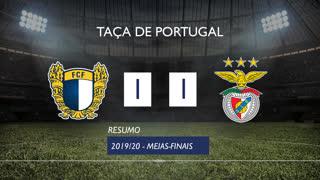 Taça de Portugal (Meias-Finais): Resumo FC Famalicão 1-1 SL Benfica