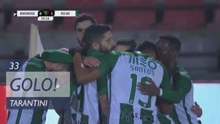 GOLO! Rio Ave FC, Tarantini aos 33', Marinhense 0-1 Rio Ave FC