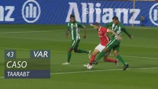 SL Benfica, Caso, Taarabt aos 43'