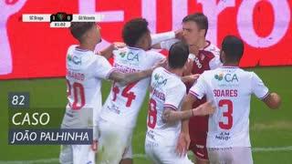 SC Braga, Caso, João Palhinha aos 82'