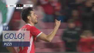 GOLO! SL Benfica, Pizzi aos 18', SL Benfica 1-1 SC Braga