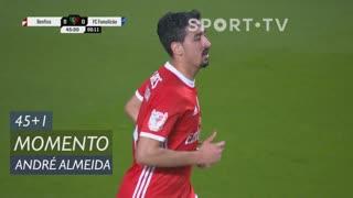 SL Benfica, Jogada, André Almeida aos 45'+1'